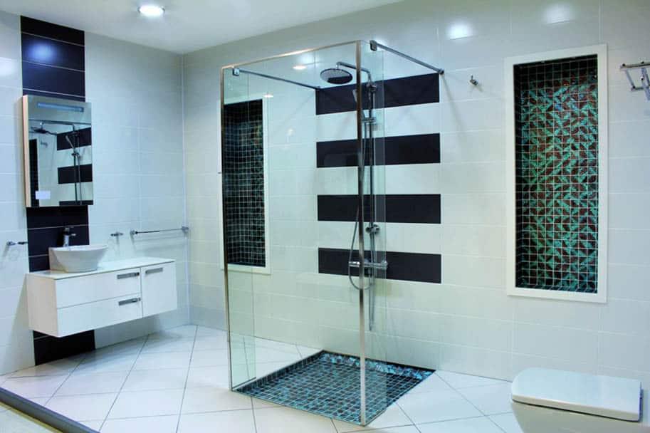 Flächenheizung im Bad unter Fliesen einsetzbar