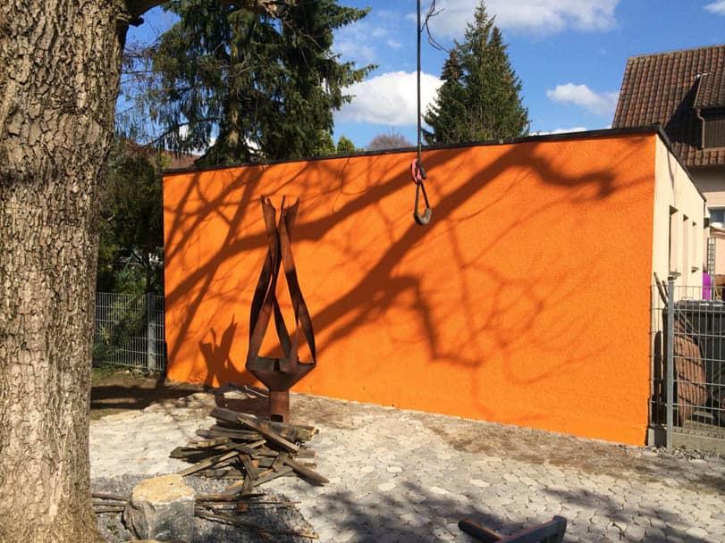 Fassadenanstrich – Algen- und Pilzbefall