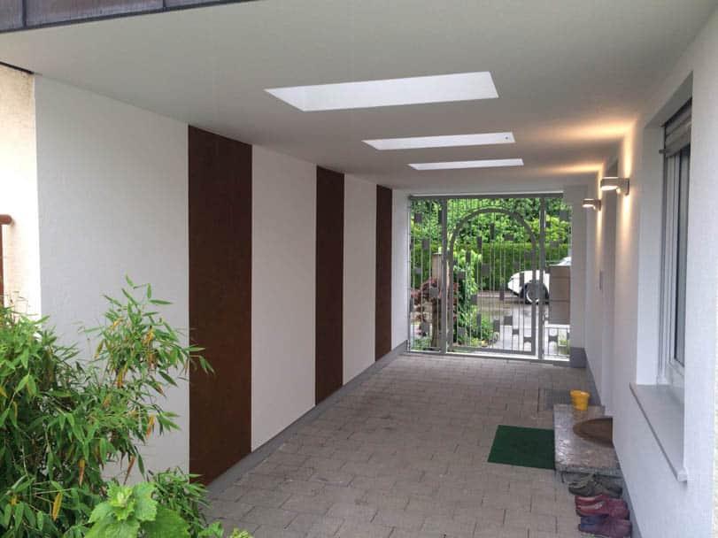 Eingangsbereich in neuem Glanz