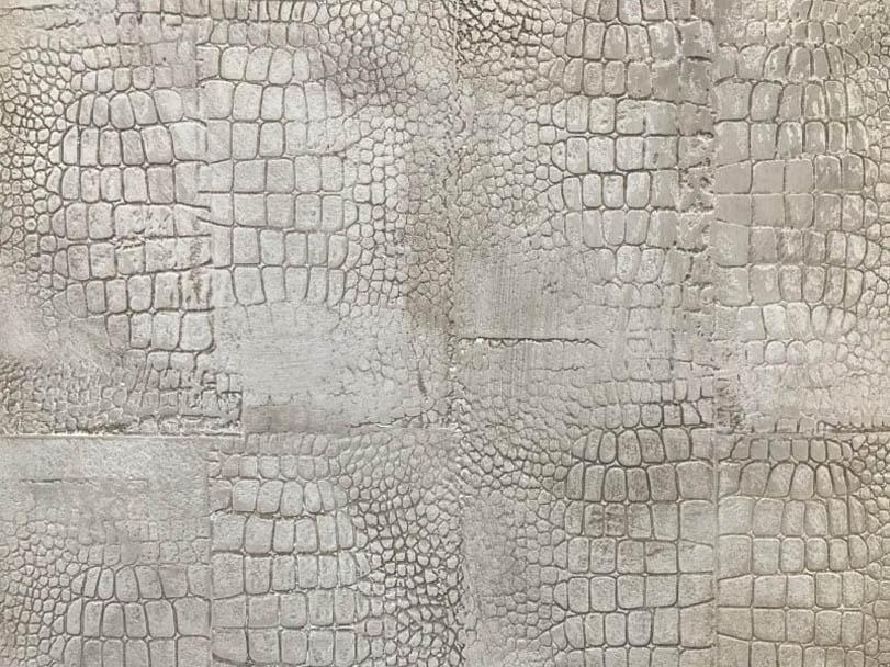 Ausstellung Musterplatte Kroko - Hofele Stuckateur und Maler Süssen