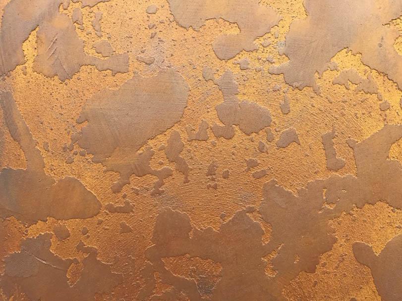 Ausstellung Musterplatte Metal - Hofele Stuckateur und Maler Süssen
