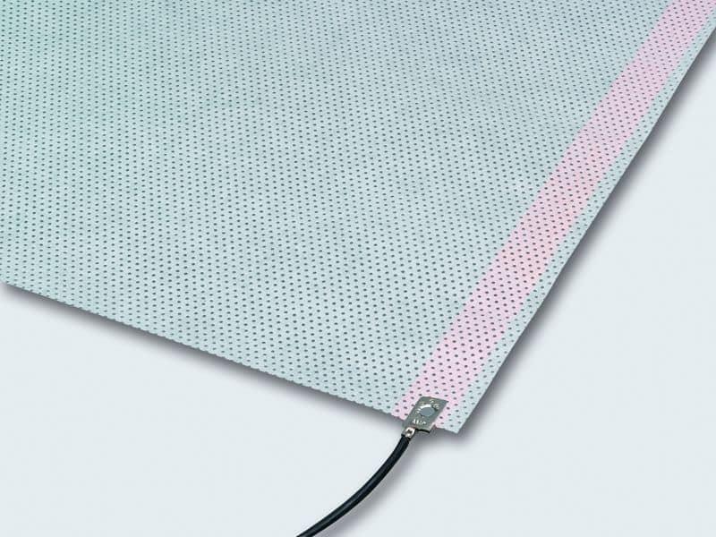 Muster der Flächenheizmatte zur Verklebung in Boden, Wand und Decke