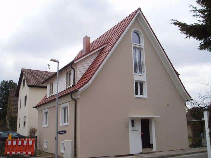 Einfamilienhaus in Süßen: Wärmedämmung mineralisch beim Altbau mit Steinwolleplatten, nicht brennbar.