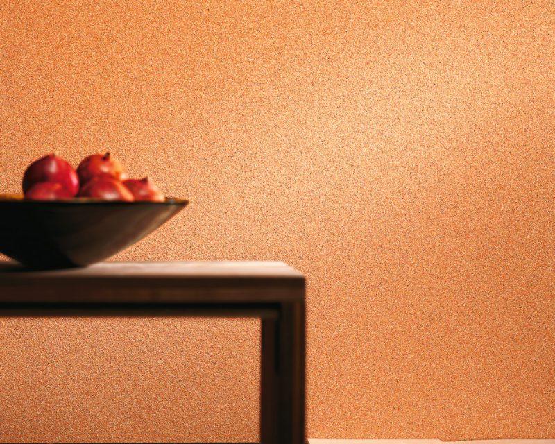 Esszimmerwand in Farbe orange - Hofele Stuckateur und Maler Süssen, Kreis Göppingen