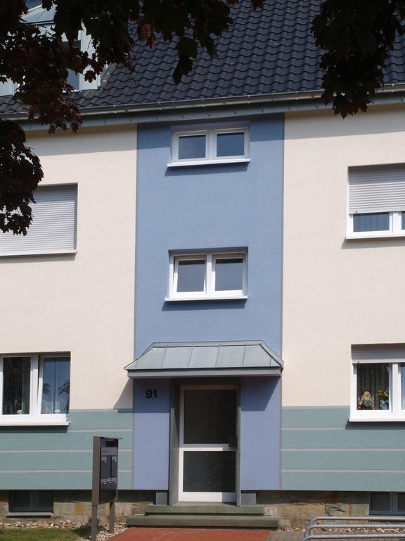 Fassade in Farbe Blau - Hofele Stuckateur und Maler Süssen, Kreis Göppingen