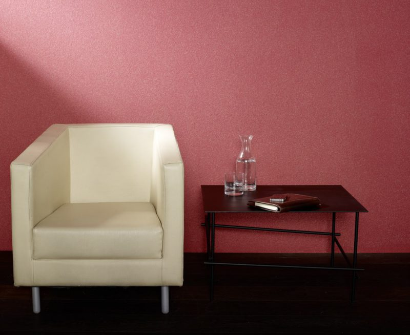 Wand in Farbe rot - Hofele Stuckateur und Maler Süssen, Kreis Göppingen