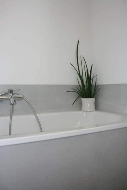 Fugenlose Beschichtung im Badezimmer