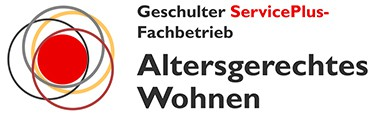 Geschulter ServicePlus-Fachbetrieb Altersgerechtes Wohnen